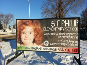 Edmonton School Signs